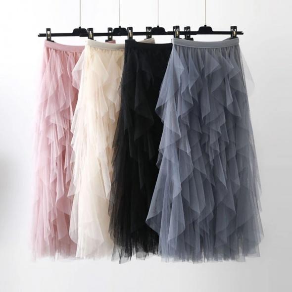 Spódnice Przepiękna tiulowa spódnica kolory