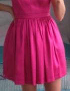 Śliczna nowa fuksjowa sukienka Motive More SALLY rozmiar S M...