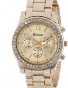 piękny nowy złoty zegarek