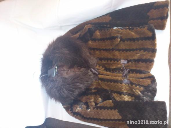 Odzież wierzchnia futerkowa kurtka