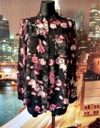 marks&spencer koszula mgiełka kwiaty róże jak nowa hit 38 M...