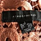 atmosphere bluzka koronkowa gipiura kwiaty 40