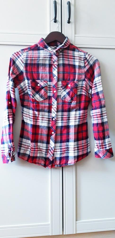 XS koszula w kratę...
