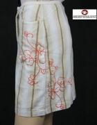 MURPHY & NYE spódnica w pasy i z haftem rozmiar 32 XXS...