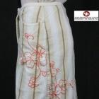 MURPHY & NYE spódnica w pasy i z haftem rozmiar 32 XXS