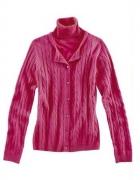 BODY FLIRT różowy BLIŹNIAK sweter i top z golf 34...