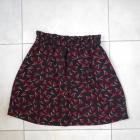 Only spódniczka wisienki wzory print