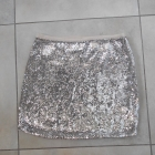 Topshop nowa cekinowa spódniczka mini cekiny
