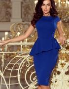 Jokastyl Chabrowa sukienka z baskinka XL 42 kolory rozmiary...