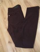 spodnie rurki bordowe H&M w28 l32...