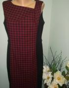 sukienka w kratkę 42 44...
