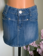 spódnica jeans XS S...