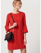 Sukienka Mohito czerwona S falbanki...