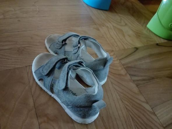 Sandały skórzane Lupilu
