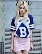 Bluzka Tunika H&M motyw Boston B rozmiar XS...