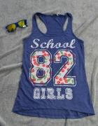TOP BOKSERKA CLOCKHOUSE SCHOLL 82 GIRLS ROZMIAR XS...