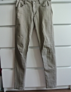 Klasyczne spodnie H&M khaki slim...