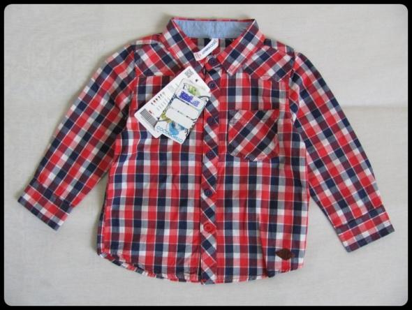 Koszulki, podkoszulki NOWA Koszula z kołnierzykiem COCCODRILLO 86