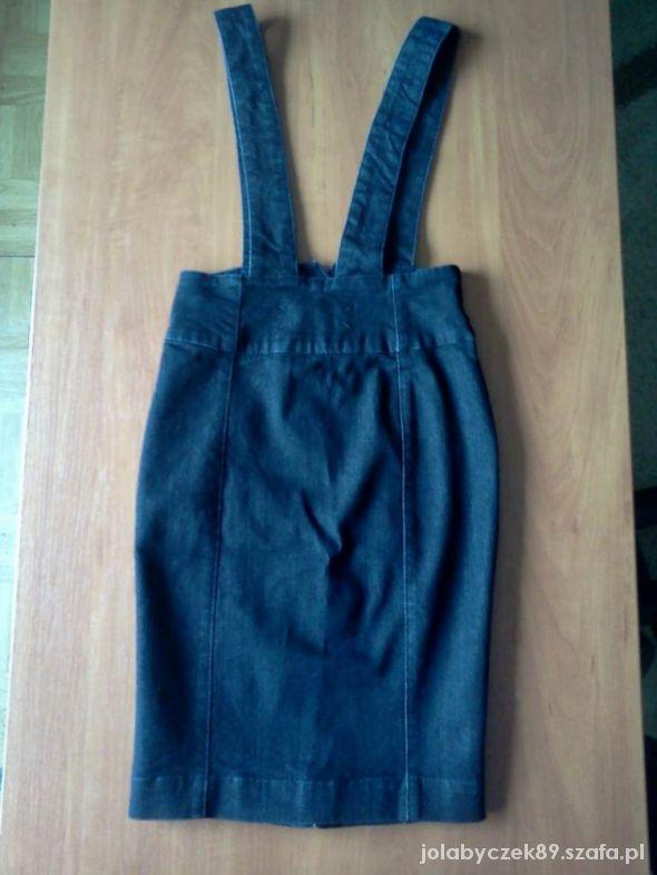 Świetna sukienka Jeansowa roz 34