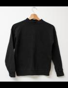 Atmosphere czarna bluza elegancka sportowa...