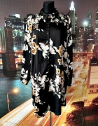 boohoo sukienka koszulowa modny wzór kwiaty floral nowa 48