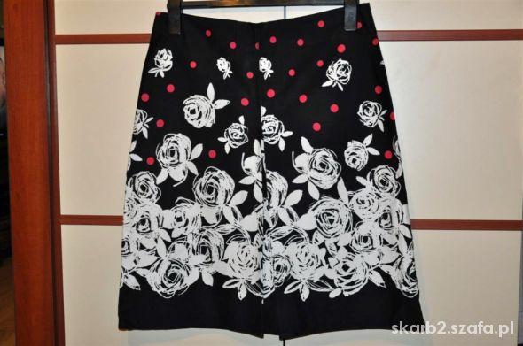Spódnice spódnica piękna w białe kwiaty 38 GEORGE