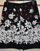 spódnica piękna w białe kwiaty 38 GEORGE...