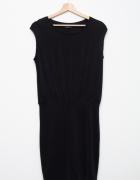 Mohito elegancka sexowna sukienka sexi mała czarna szara...