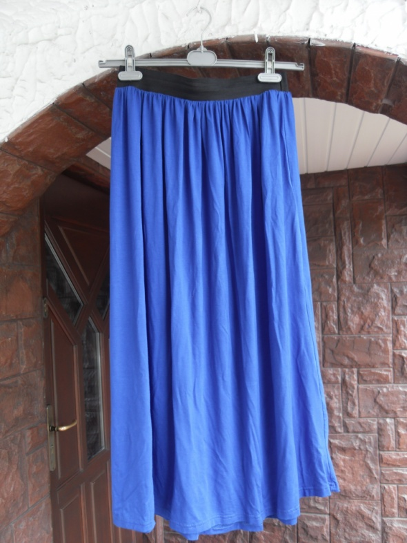 Spódnica maxi kobaltowa 40 L