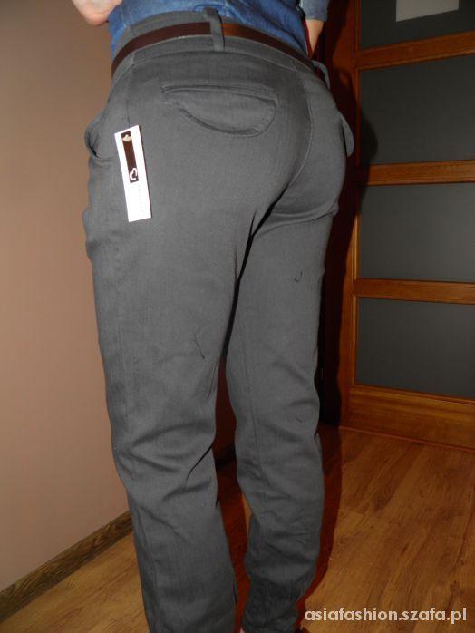 nowe eleganckie spodnie pumpy ściągacze M jak zara