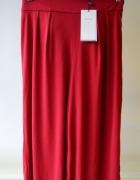 Spodnie Spódnica Czerwona NOWA Bershka XS 34 Pracy...