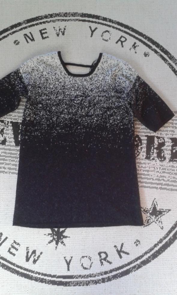 Modna SUKIENKA TUNIKA swetrowa 38 M ombre 40 L