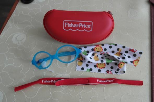 Okularki dla chłopca Fisher Price