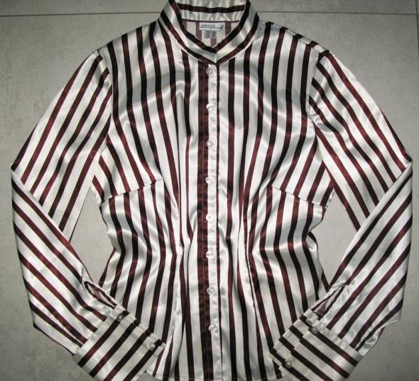 JURGEN MICHAELSEN elegancka koszula damska w paski roz 36...
