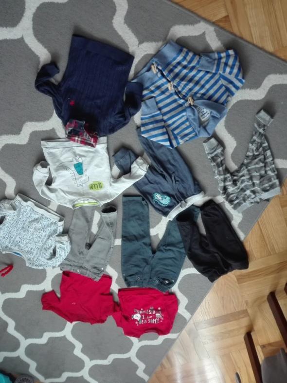 Ubranka dla chłopca różne...