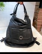 Kappahl czarny plecak torba torebka...