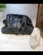 Grey Wolf czarna torba shopper xxl...