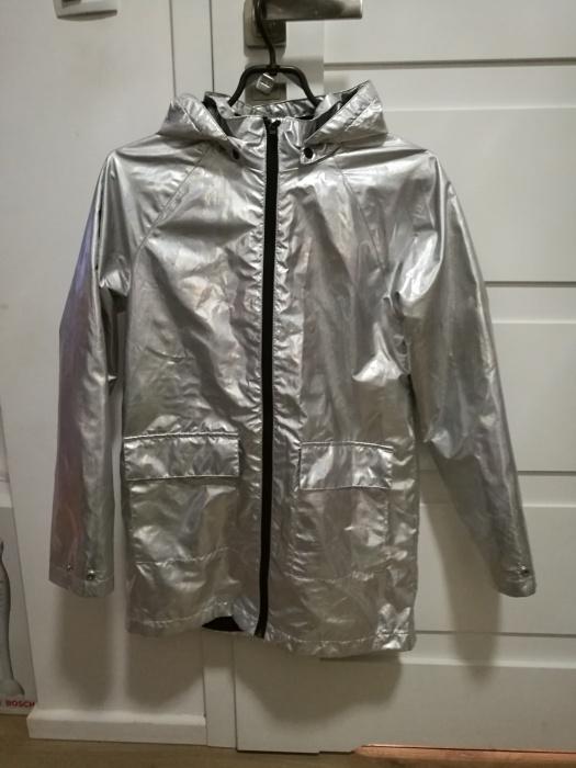 Kurtki Śliczna kurtka płaszczyk HOLO 146 152