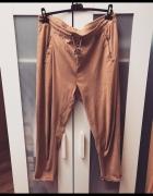 Spodnie zamszowe na gumce XXL XXXL...
