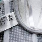 H&M gorset w kratkę vichy 36 70c 75b