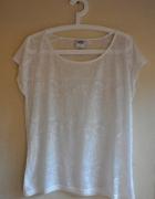 Biała koszulka tshirt vero moda M 38 mgiełka...