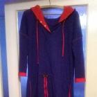 szafirowo czerwona tunika