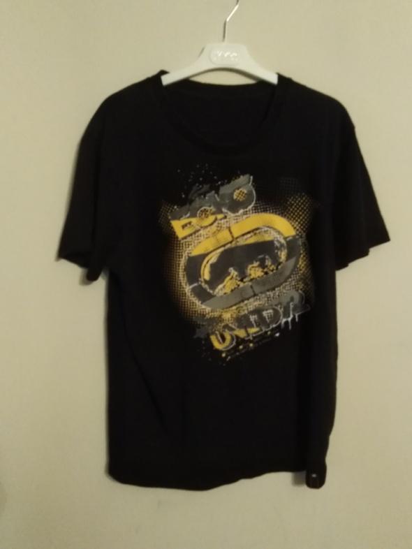 Ecko czarny tshirt męski koszulka L XL