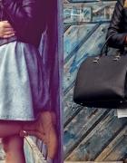 sukienka dżinsowa XS rozkloszowana...
