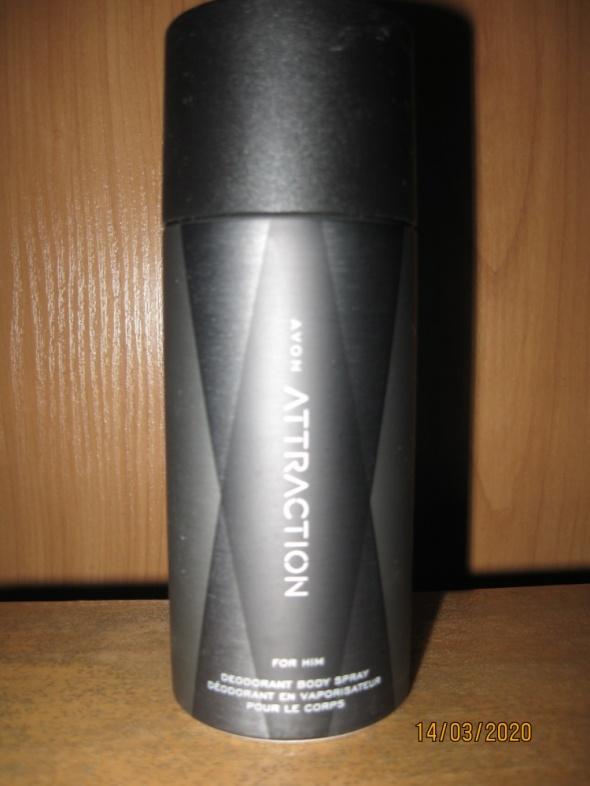 Perfumy Spray Avon Attraction dla Pana