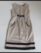 Sukienka elegancka wesele chrzest itp rozmiar 40 L...