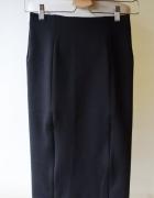Spódniczka Czarna XS 34 H&M Ołówkowa Elegancka...