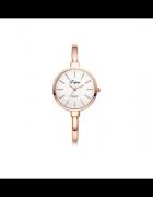 Elegancki złoty zegarek...