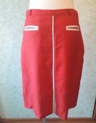 Czerwona ołówkowa spódnica rozmiar 38...