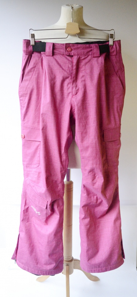 Spodnie Narciarskie L 40 Firefly Różowe Snowboardowe...